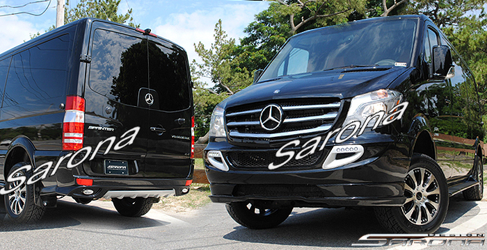 Custom Mercedes Sprinter  Van Body Kit (2014 - 2018) - $3200.00 (Part #MB-150-KT)