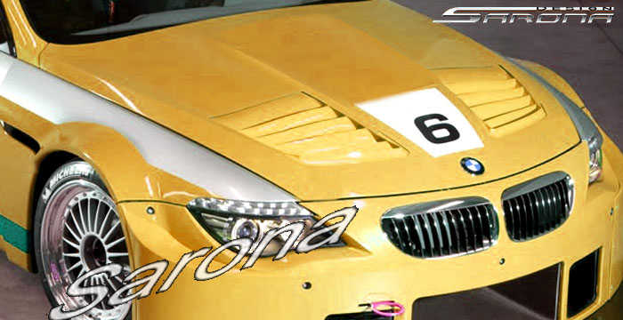 Custom BMW 6 Series  Coupe & Convertible Hood (2004 - 2010) - $1790.00 (Part #BM-007-HD)