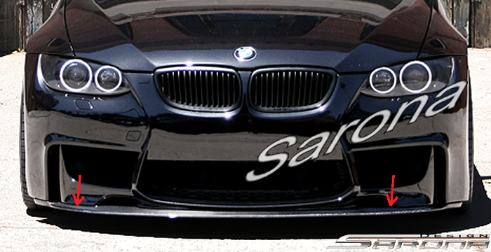 Custom Bmw 3 Series Front Add On Lip Sarona