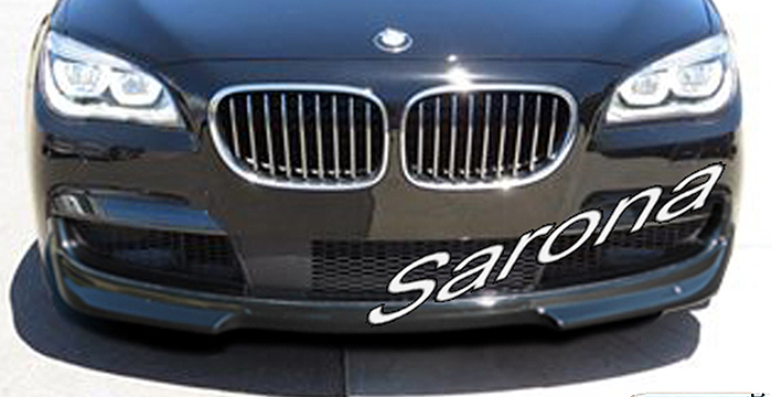 Custom BMW 7 Series  Sedan Front Add-on Lip (2009 - 2015) - $450.00 (Part #BM-067-FA)