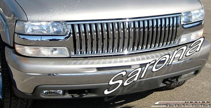 Custom Chevy Tahoe  SUV/SAV/Crossover Grill (2000 - 2006) - $219.00 (Part #CH-020-GR)