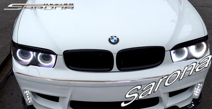 Custom BMW 7 Series  Sedan Eyelids (2005 - 2008) - $129.00 (Part #BM-029-EL)