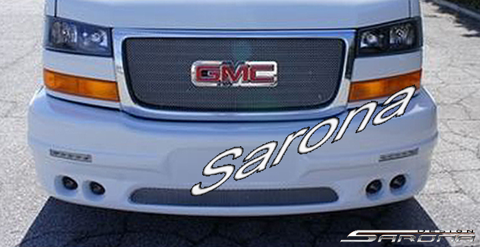 Custom Chevy Van All Styles Front Bumper 2003