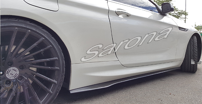 Custom BMW 6 Series  Coupe & Convertible Side Skirts (2012 - 2016) - $690.00 (Part #BM-042-SS)