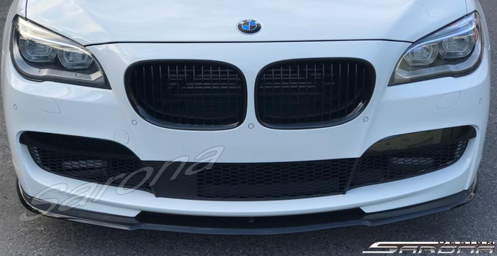 Custom BMW 7 Series  Sedan Front Add-on Lip (2009 - 2015) - $399.00 (Part #BM-079-FA)