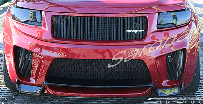Custom Jeep Grand Cherokee  SUV/SAV/Crossover Front Bumper (2014 - 2016) - $890.00 (Part #JP-010-FB)