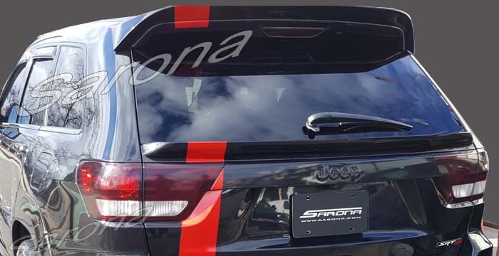 Custom Jeep Grand Cherokee  SUV/SAV/Crossover Roof Wing (2011 - 2013) - $290.00 (Part #JP-004-RW)