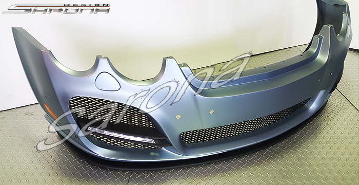 Custom Bentley Flying Spur  Sedan Front Bumper (2005 - 2009) - $3290.00 (Part #BT-015-FB)