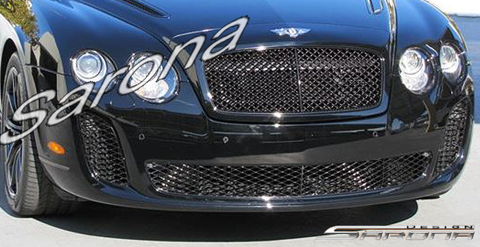 Custom Bentley Flying Spur  Sedan Front Bumper (2005 - 2009) - $1790.00 (Part #BT-016-FB)