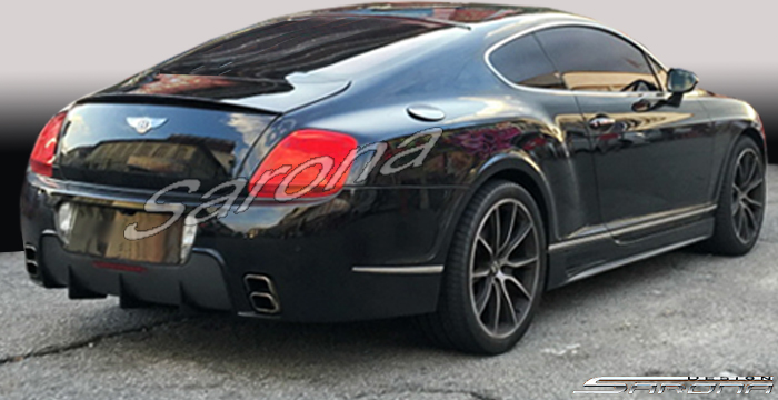 Custom Bentley GT  Coupe Rear Bumper (2004 - 2011) - Call for price (Part #BT-001-RB)