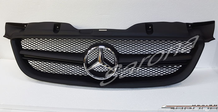 Custom Mercedes Sprinter  All Styles Grill (2007 - 2013) - $690.00 (Part #MB-051-GR)