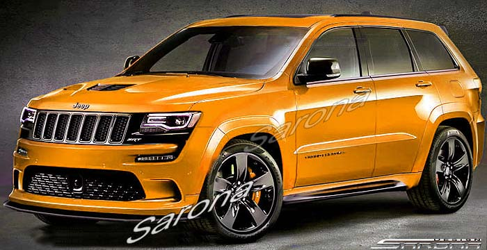 Custom Jeep Grand Cherokee Hood Sarona
