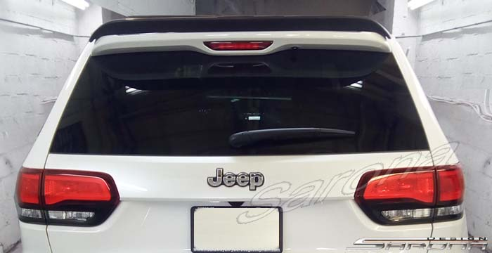 Custom Jeep Grand Cherokee  SUV/SAV/Crossover Roof Wing (2014 - 2019) - $269.00 (Part #JP-006-RW)
