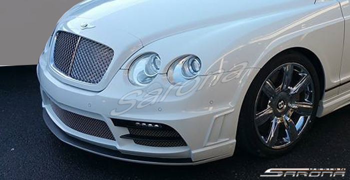 Custom Bentley Flying Spur  Sedan Front Bumper (2005 - 2011) - $1590.00 (Part #BT-017-FB)