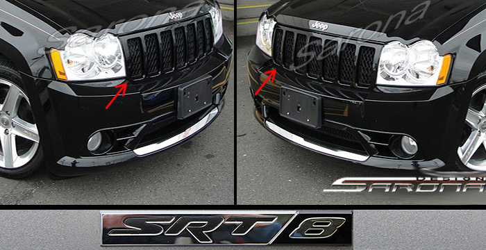 Custom Jeep Grand Cherokee  All Styles Grill (2005 - 2007) - $290.00 (Part #JP-010-GR)