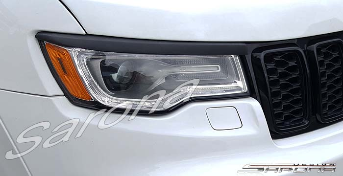 Custom Jeep Grand Cherokee  SUV/SAV/Crossover Eyelids (2014 - 2019) - $98.00 (Part #JP-004-EL)