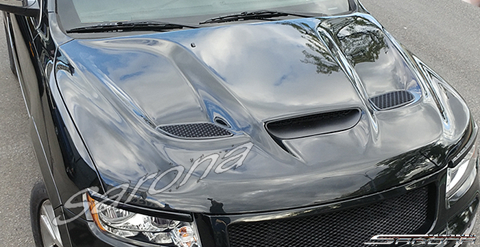 Custom Jeep Grand Cherokee  SUV/SAV/Crossover Hood (2011 - 2019) - $890.00 (Part #JP-014-HD)
