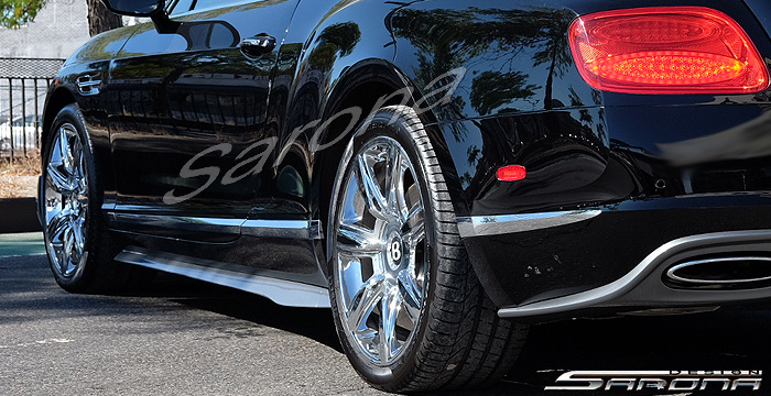 Custom Bentley GT  Convertible Side Skirts (2011 - 2017) - Call for price (Part #BT-012-SS)