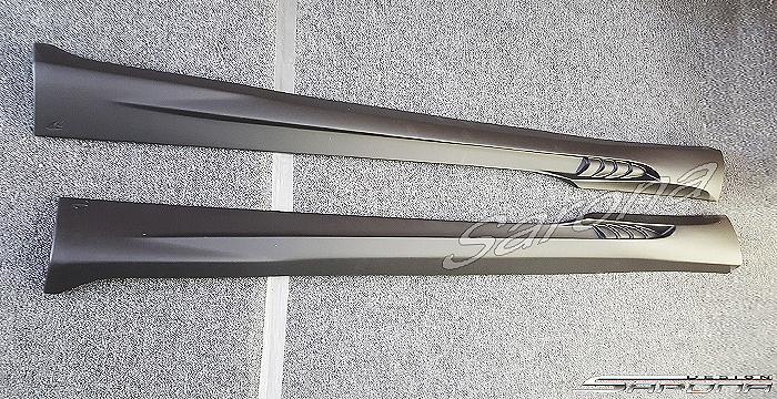 Custom Bentley GTC  Convertible Side Skirts (2011 - 2015) - $890.00 (Part #BT-013-SS)