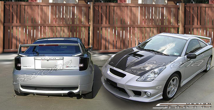 Custom 00 02 Celica Kit 126 20 Coupe Body Kit 2000