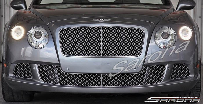 Custom Bentley GT  Coupe Front Bumper (2012 - 2017) - $875.00 (Part #BT-021-FB)