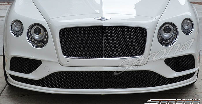 Custom Bentley GT  Coupe Front Bumper (2016 - 2017) - Call for price (Part #BT-022-FB)