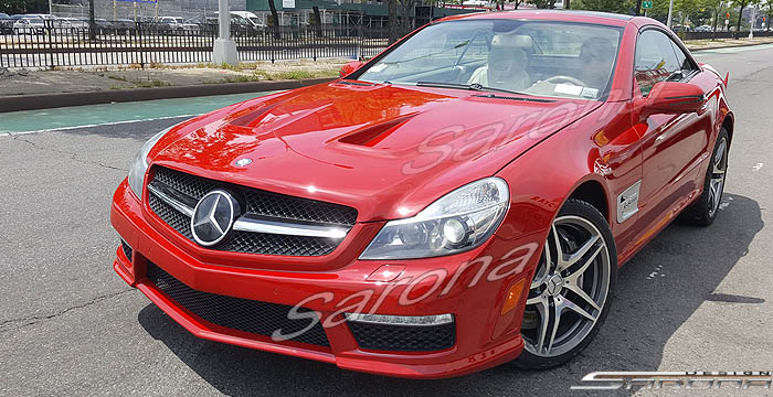 Custom Mercedes SL  Convertible Body Kit (2009 - 2012) - $2200.00 (Part #MB-155-KT)