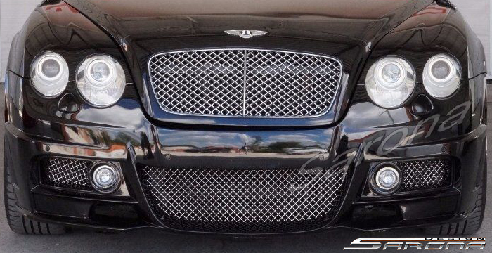 Custom Bentley GTC  Convertible Front Bumper (2003 - 2009) - $2990.00 (Part #BT-024-FB)