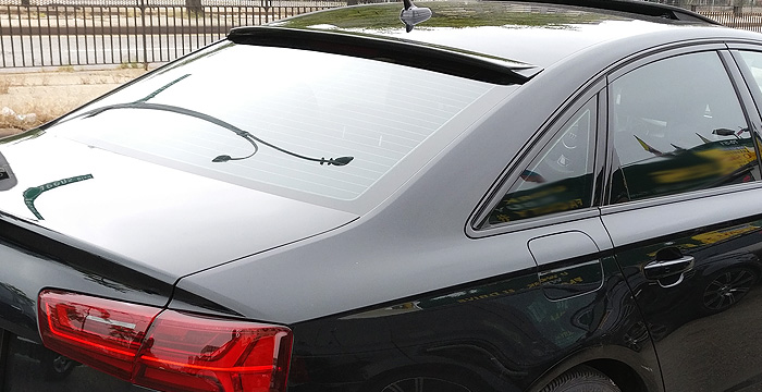 Custom Audi A6  Sedan Roof Wing (2016 - 2017) - $290.00 (Part #AD-013-RW)