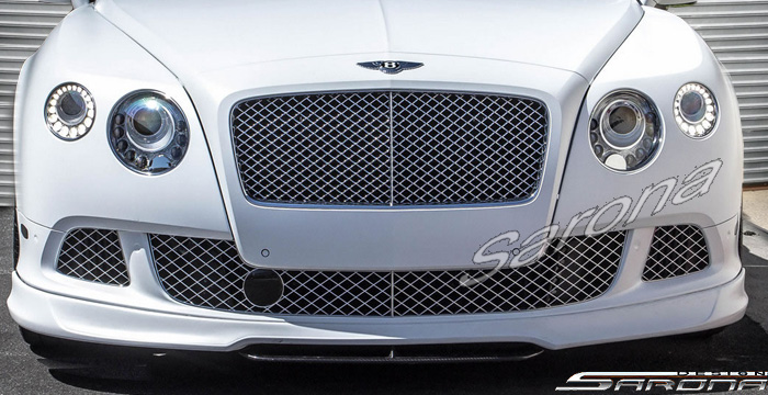 Custom Bentley GT  Coupe Front Add-on Lip (2011 - 2017) - $1450.00 (Part #BT-016-FA)
