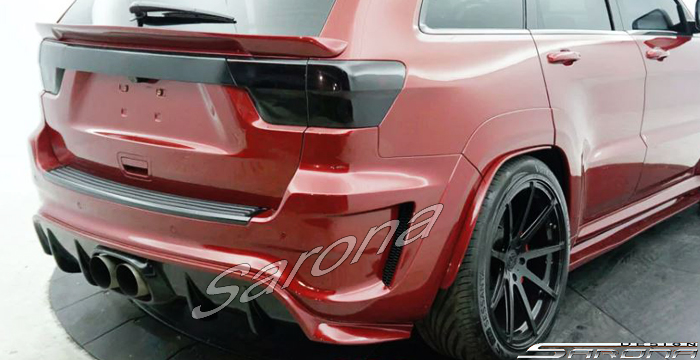 Custom Jeep Grand Cherokee SUV/SAV/Crossover Rear Bumper