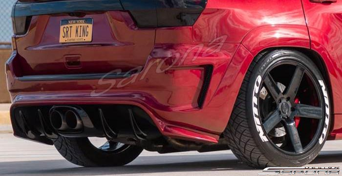 Custom Jeep Grand Cherokee  SUV/SAV/Crossover Rear Bumper (2011 - 2019) - $1090.00 (Part #JP-008-RB)