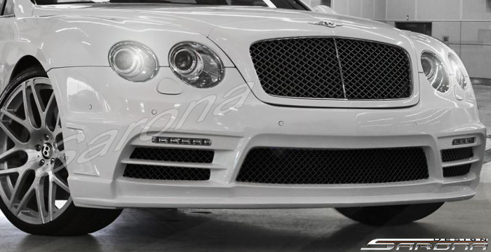 Custom Bentley GTC  Convertible Front Bumper (2004 - 2010) - Call for price (Part #BT-028-FB)
