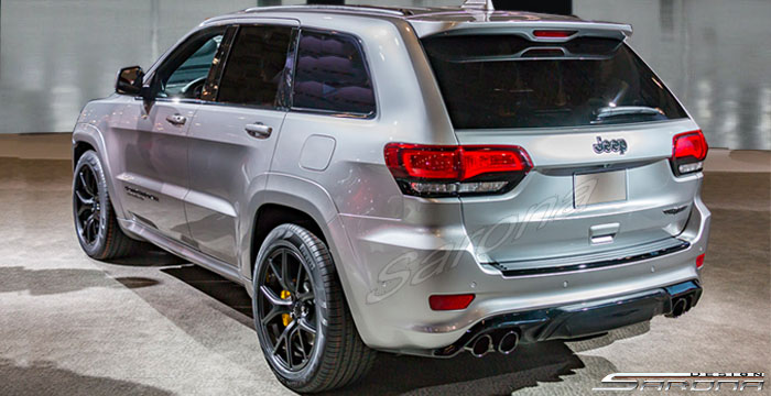 Custom Jeep Grand Cherokee  SUV/SAV/Crossover Rear Bumper (2014 - 2019) - $690.00 (Part #JP-009-RB)