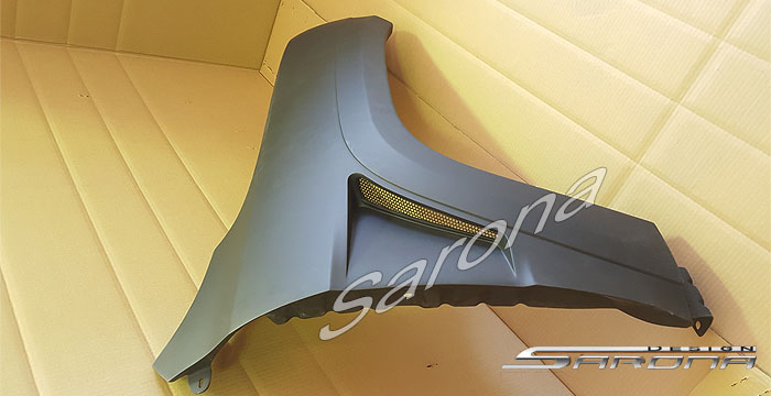Custom Jeep Grand Cherokee  SUV/SAV/Crossover Fenders (2005 - 2010) - $799.00 (Part #JP-002-FD)