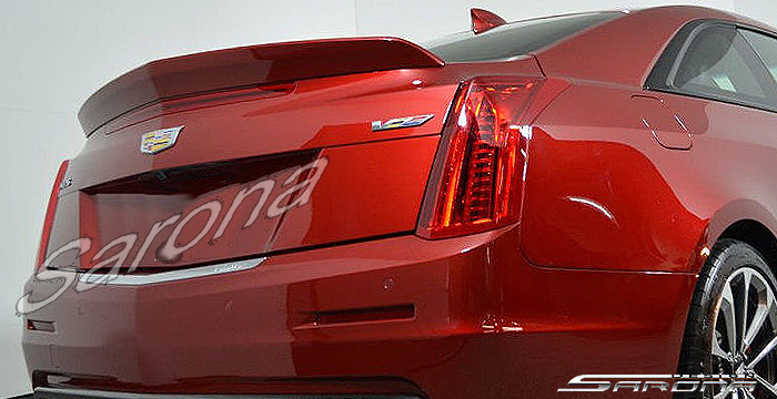Custom Cadillac ATS  Coupe Trunk Wing (2014 - 2018) - $290.00 (Part #CD-023-TW)