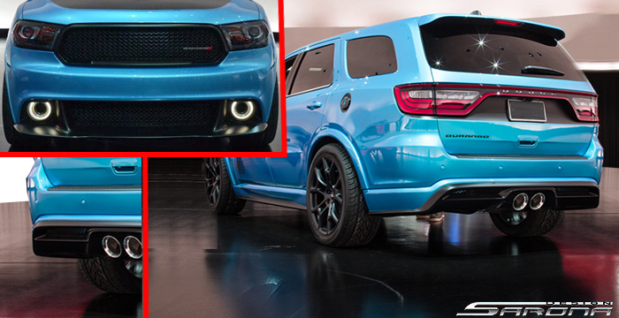 Custom Dodge Durango  SUV/SAV/Crossover Body Kit (2011 - 2019) - $2290.00 (Part #DG-025-KT)