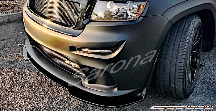 Custom Jeep Grand Cherokee  SUV/SAV/Crossover Front Bumper (2011 - 2013) - $890.00 (Part #JP-016-FB)