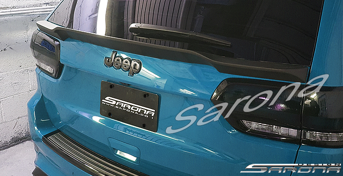 Custom Jeep Grand Cherokee  SUV/SAV/Crossover Trunk Wing (2014 - 2019) - $375.00 (Part #JP-009-TW)
