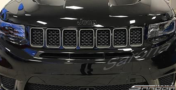 Custom Jeep Grand Cherokee  SUV/SAV/Crossover Grill (2011 - 2013) - $390.00 (Part #JP-014-GR)