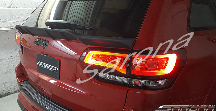 Custom Jeep Grand Cherokee  SUV/SAV/Crossover Trunk Wing (2014 - 2019) - $375.00 (Part #JP-010-TW)
