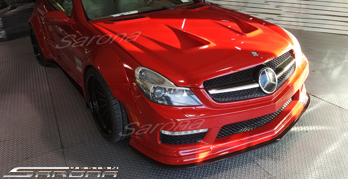 Custom Mercedes SL  Convertible Body Kit (2009 - 2012) - Call for price (Part #MB-157-KT)