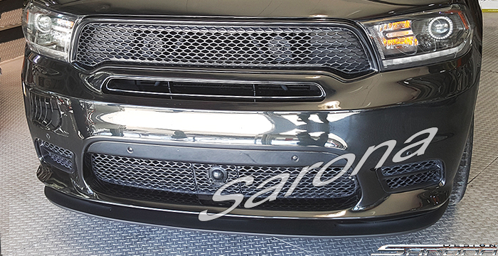Custom Dodge Durango  SUV/SAV/Crossover Front Add-on Lip (2017 - 2020) - $390.00 (Part #DG-017-FA)