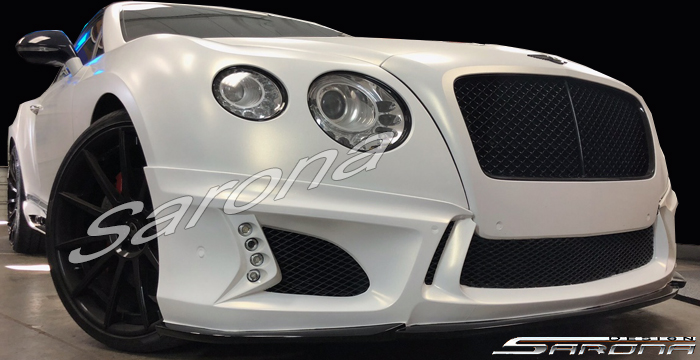 Custom Bentley GTC  Convertible Front Bumper (2011 - 2016) - $1090.00 (Part #BT-033-FB)