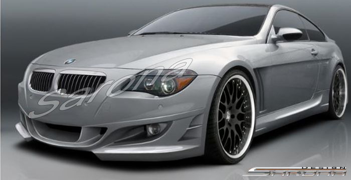 Custom BMW 6 Series  Coupe & Convertible Side Skirts (2004 - 2010) - $695.00 (Part #BM-051-SS)