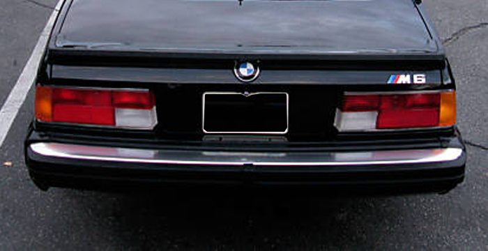 Custom BMW 6 Series  Coupe Trunk Wing (1975 - 1985) - $460.00 (Part #BM-127-TW)