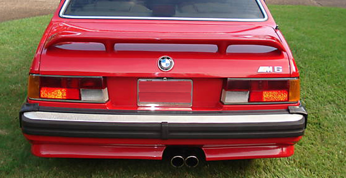 Custom BMW 6 Series  Coupe Trunk Wing (1975 - 1985) - $475.00 (Part #BM-128-TW)