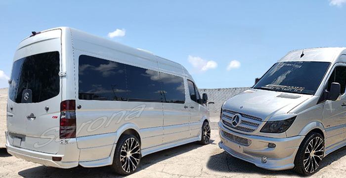 Custom Mercedes Sprinter  Van Body Kit (2007 - 2013) - $2480.00 (Part #MB-159-KT)