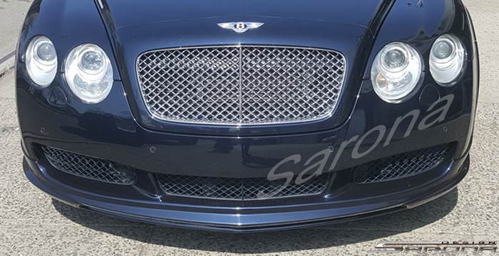 Custom Bentley GT  Coupe Front Add-on Lip (2004 - 2011) - $790.00 (Part #BT-028-FA)