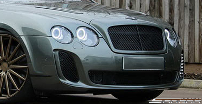 Custom Bentley Flying Spur  Sedan Front Bumper (2004 - 2011) - $1980.00 (Part #BT-039-FB)
